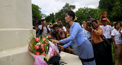 Suu Kyi not invited to meeting on persecuted Rohingya Muslims