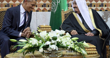 Saudi king, other Persian Gulf rulers to stay away from D.C. summit
