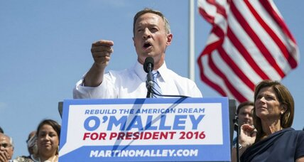 Martin O'Malley broadens Democrats' field for 2016 White House race