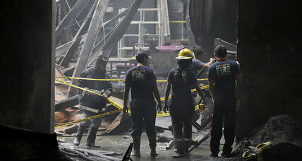 Investigation to begin after 72 killed in Philippine factory fire