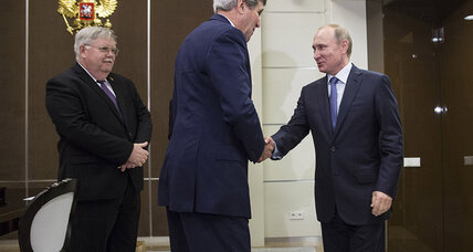 No breakthrough between US and Russia as Kerry, Putin meet