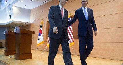 Kerry blasts North Korea, pledges support to South (+video)
