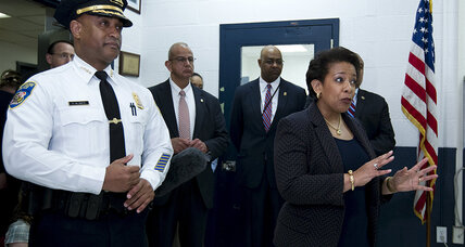 Attorney General Lynch meets with Freddie Gray's family, pledges police reform