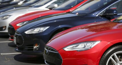 Tesla Model S used electric cars now for sale online