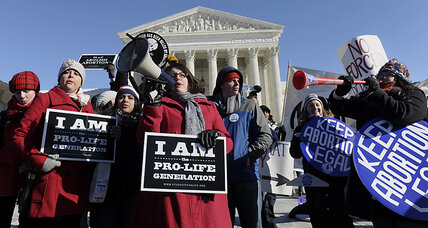 Is the ground shifting under abortion? Polls, court rulings seem to say so.