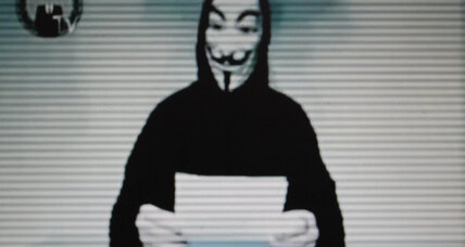 With all its political bluster, Anonymous can't shake its 'prankster' past