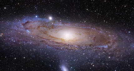 Can Andromeda's vast halo of gas help explain how galaxies form?