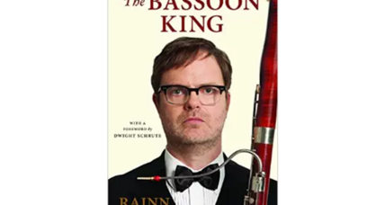 'The Office' actor Rainn Wilson's book will be published this November