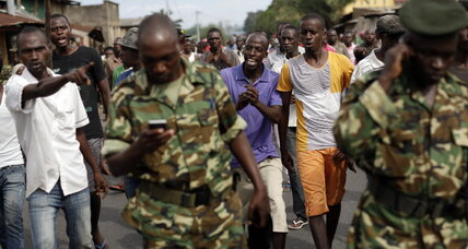 In Burundi, youth find their voice as president clings to power