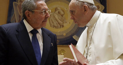 Cuba's Raul Castro emerges as a Pope Francis fan