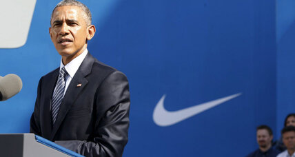 How Nike came to embody the good and bad of Obama's free-trade push