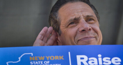 N.Y. governor bypasses legislature to boost wages – just like Obama?