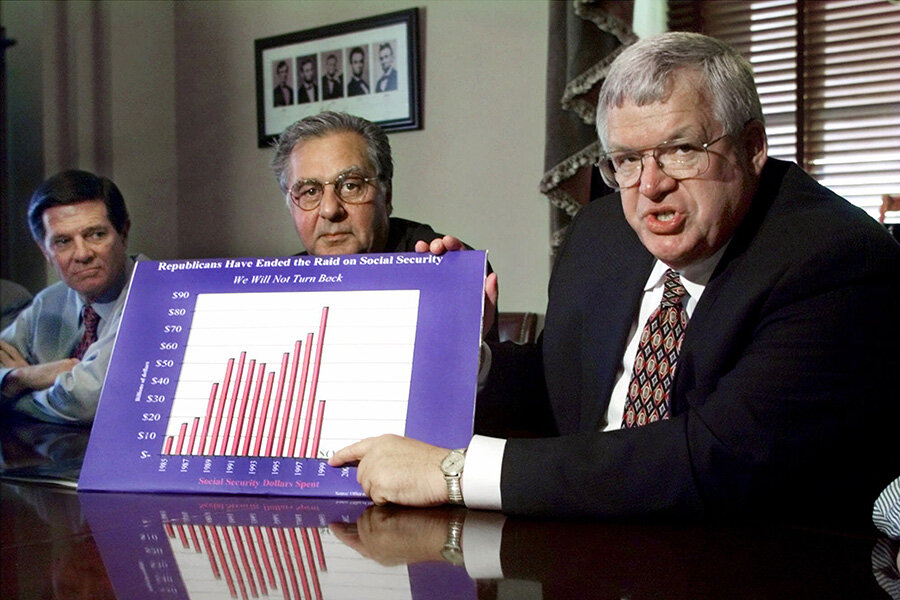 Dennis Hastert and the chain of congressional corruption