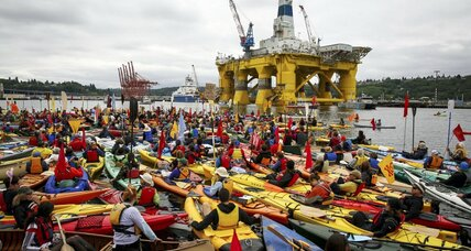 Seattle 'kayaktavists' plan civil disobedience against Shell Oil