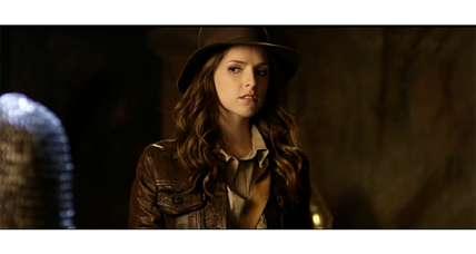Anna Kendrick's 'Indianna Jones': Should a woman don the fedora for real? (+video)