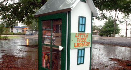 Little Free Library book highlights the growing project