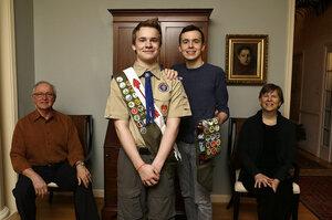 Barring gay boy scout leaders