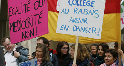 France fights 'education inequality' by ending bilingual classes