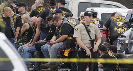 Are Waco's white bikers treated differently than Baltimore's black protesters?
