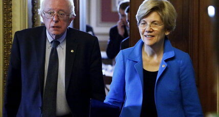 Why Bernie Sanders is appealing to Elizabeth Warren fans