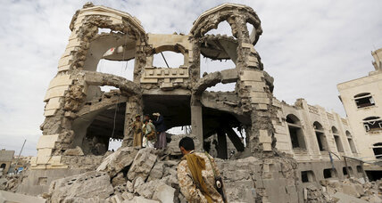 As Saudi-led fighters bomb Yemen, Houthi rebels to meet US officials