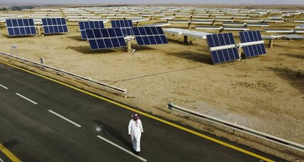 In oil-rich Middle East, an opening for renewable energy