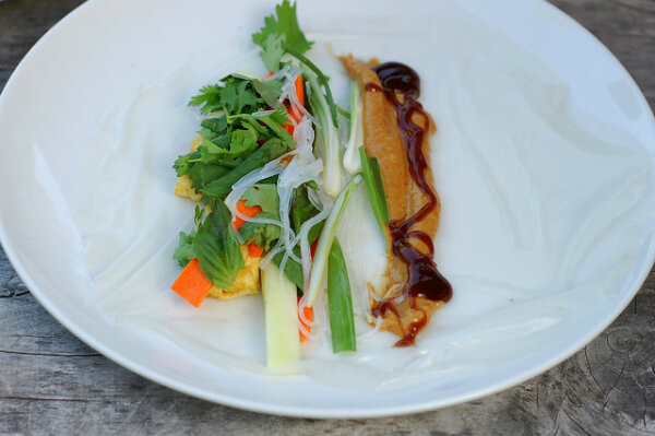 Fried Tofu With Spring Vegetables And Peanut Sauce Recipes ...