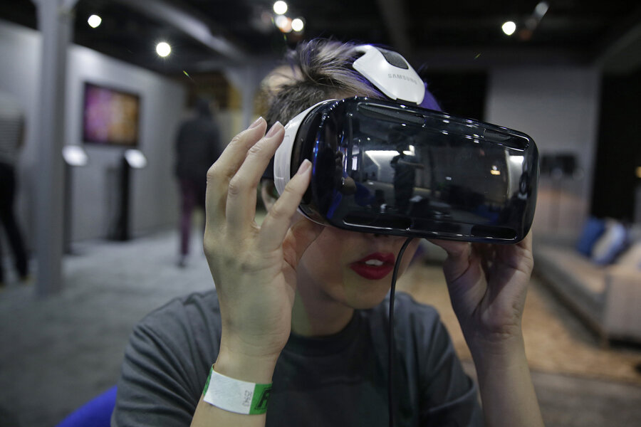 Is Hollywood's future inside VR goggles? - CSMonitor com
