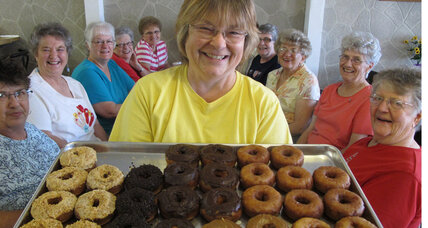 It's National Doughnut Day! Where to get free doughnuts. (+video)