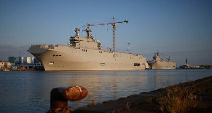 If not Russia, who will buy French warships?