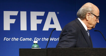 Sepp Blatter exits, stage right. What's next for global soccer?