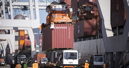 US trade deficit drops off nearly 20 percent in April