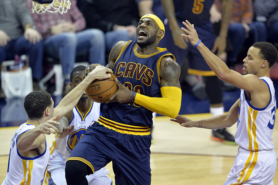 2015 nba finals lebron and cavaliers vs curry and warriors