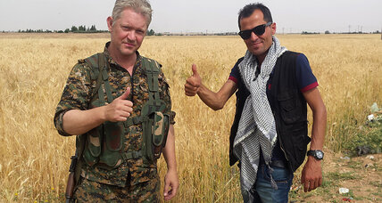 Why Hollywood actor decided to fight ISIS in Syria?