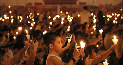 In China's freest city, youth activists turn back on Tiananmen vigil (+video)