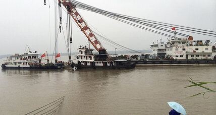 Recovery effort continues for capsized Chinese cruise ship