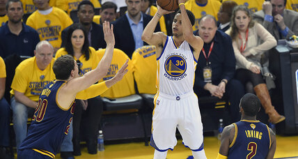 NBA Finals 2015: Warriors need overtime to beat Cavaliers in Game 1