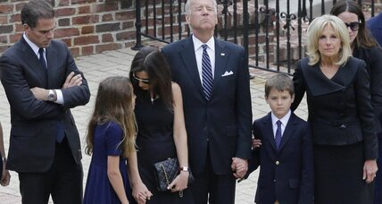 Beau Biden memorial: The good he leaves behind (+video)