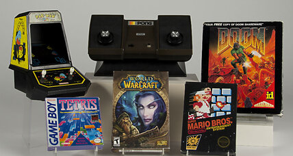 New Video Game Hall of Fame shines a spotlight on older games