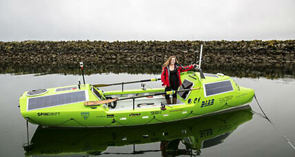 US woman to attempt solo Pacific crossing. In a rowboat.