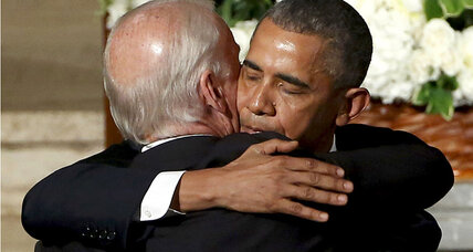 Personal bond between Obama, Biden magnified by sorrow
