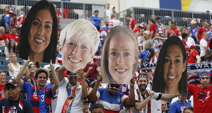 US women victorious at World Cup opener