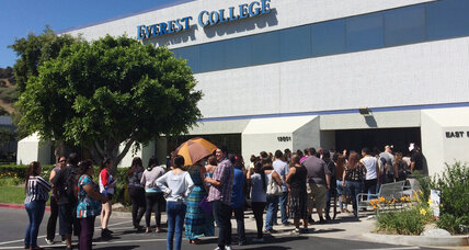 Government to forgive Corinthian Colleges student loans