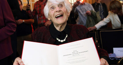Blocked by Nazis, 102-year-old Jewish woman finally gets German doctorate