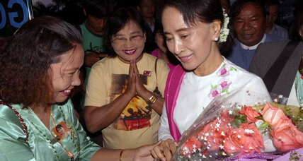 Making first visit to China, Aung San Suu Kyi's pragmatism in play (+video)