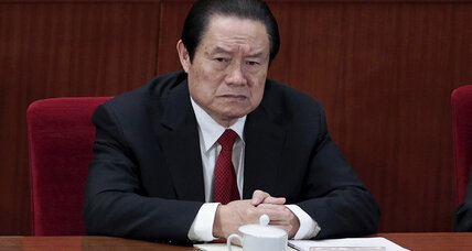 Ex-China security chief sentenced to life in prison for corruption