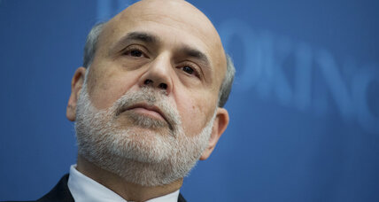 Ben Bernanke's financial advice: Money isn't everything