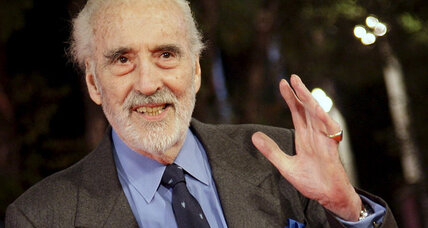 Christopher Lee was Dracula, Saruman, and a heavy metal musician