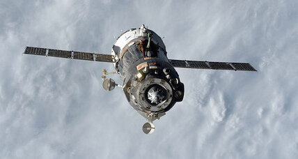Three astronauts return to Earth from space station