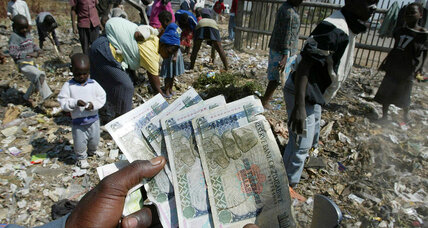 At long last, Zimbabwe says goodbye to its hyperinflated currency (+video)
